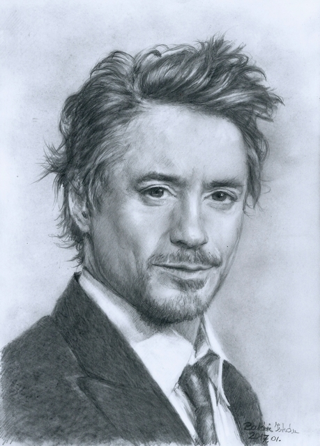 Robert Downey Jr par bati